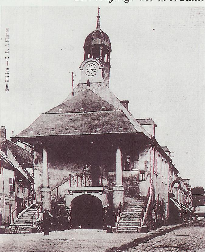 Hôtel de Ville Fismes 1910