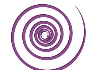 Logo spirale couleur